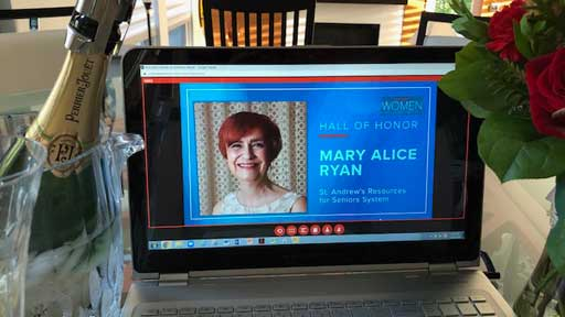 Congratulations Mary Alice Ryan
